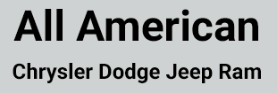 All American Chrysler Dodge Jeep Ram Logo