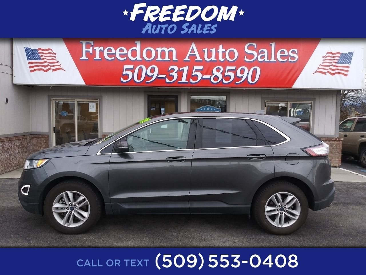 Used 2017 Ford Edge