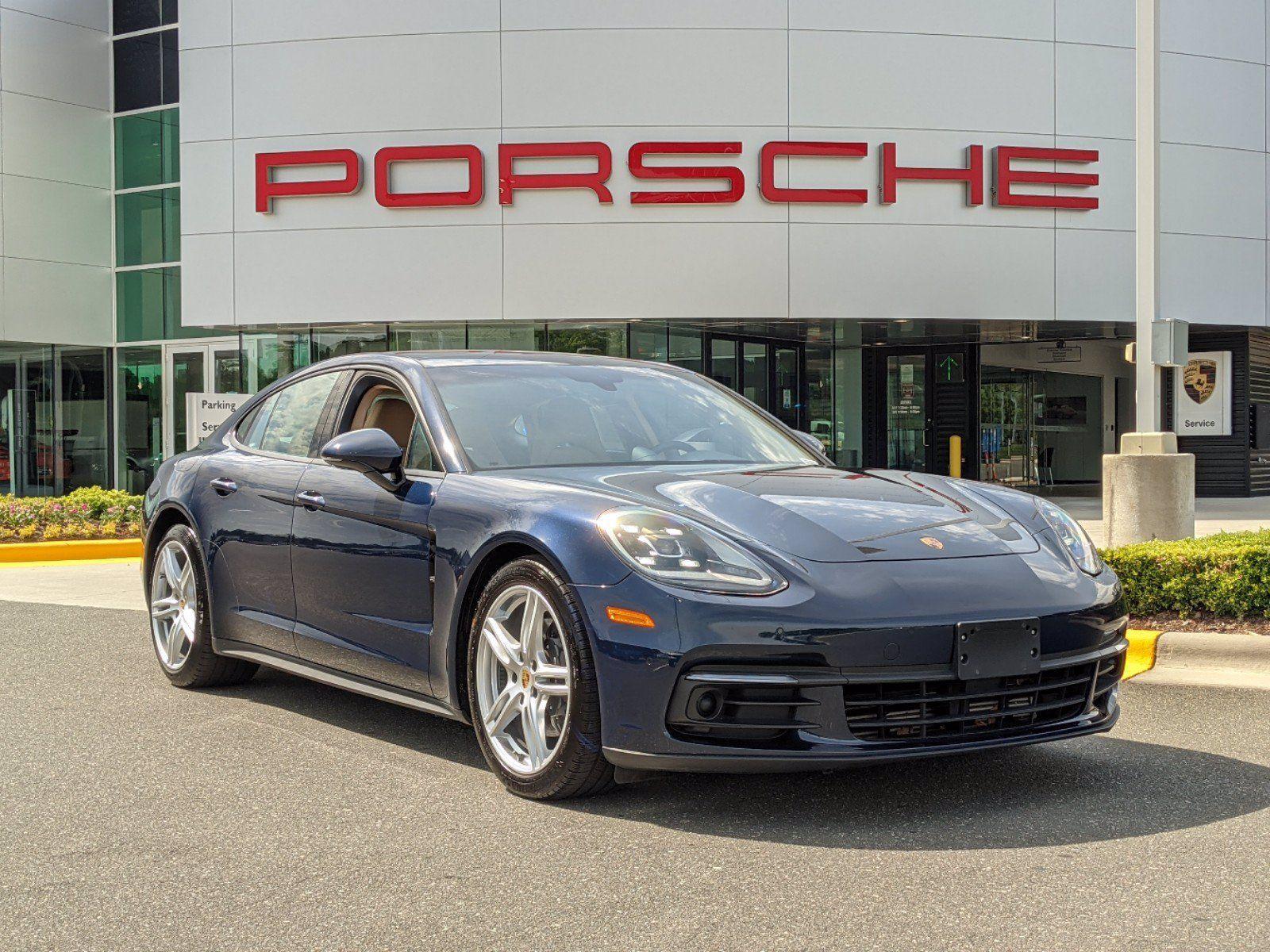 Used 2018 Porsche Panamera