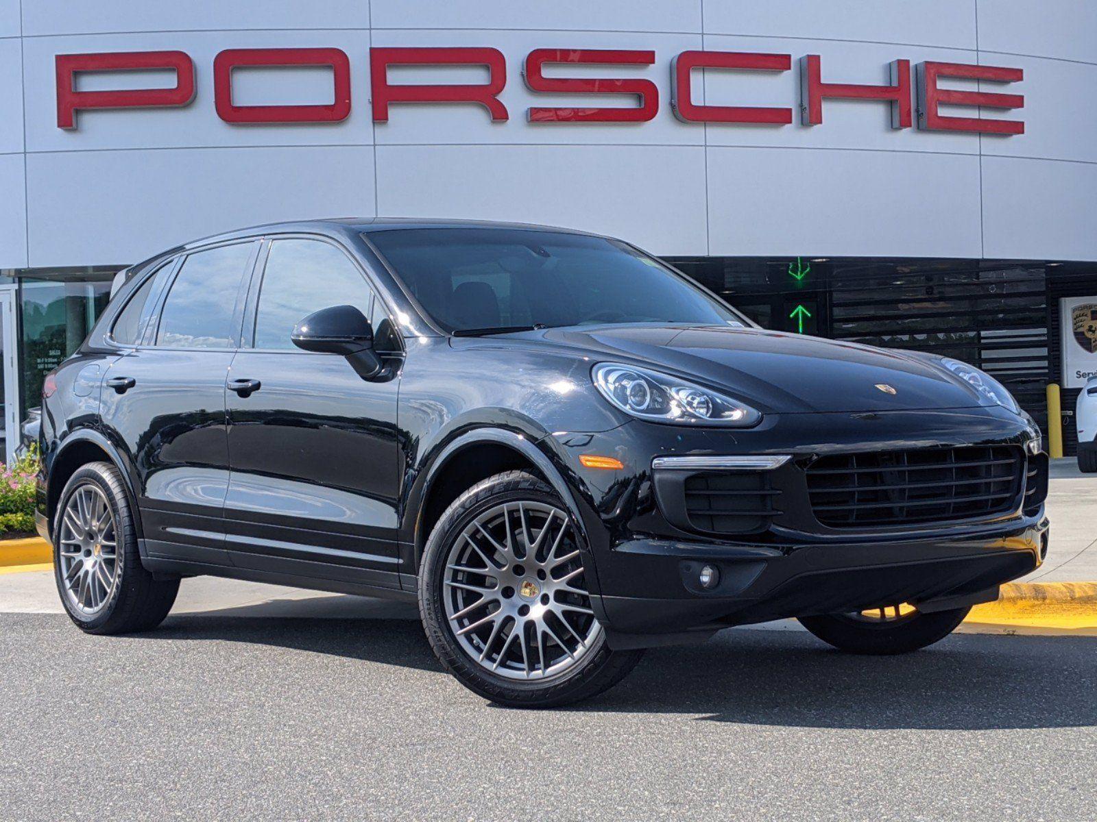 Used 2018 Porsche Cayenne